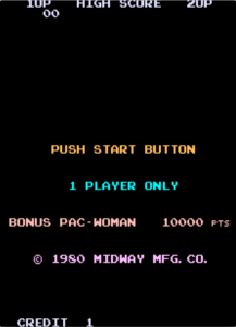 This is the only place in the original Pac-Man where the name appears.